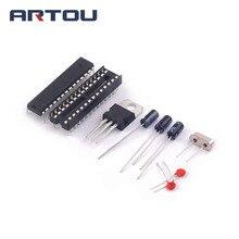 ATMEGA328P-PU sem-Ar duino BOOTLOADER + Soquete DIP & 16 MHz Kit de cristal