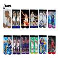 2016 New  Star Socks 100g socks 3D Printting Curry  / Griffins/Jardan/ Durant Basket Team Sock Odd Mens Meias