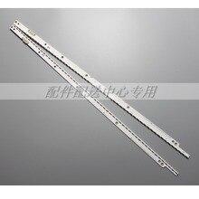 2 sztuk x podświetlenie LED Strip dla Samsung UA40ES6100J UE40ES5500 UE40ES5500K 2012SVS40 7032NNB RIGHT56/LEFT56 2D REV1.1 56 LEDs