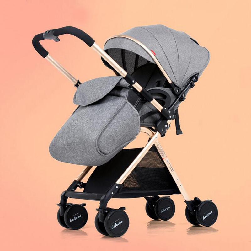 China cheap Lightweight Baby Stroller 5.9KG 7 Free Gifts Folding Carriage Buggy Pushchair Pram Newborn bb car shipping Russia baby stroller 4 free gifts folding carriage buggy pushchair pram high landscape newborn infant car 8 wheels
