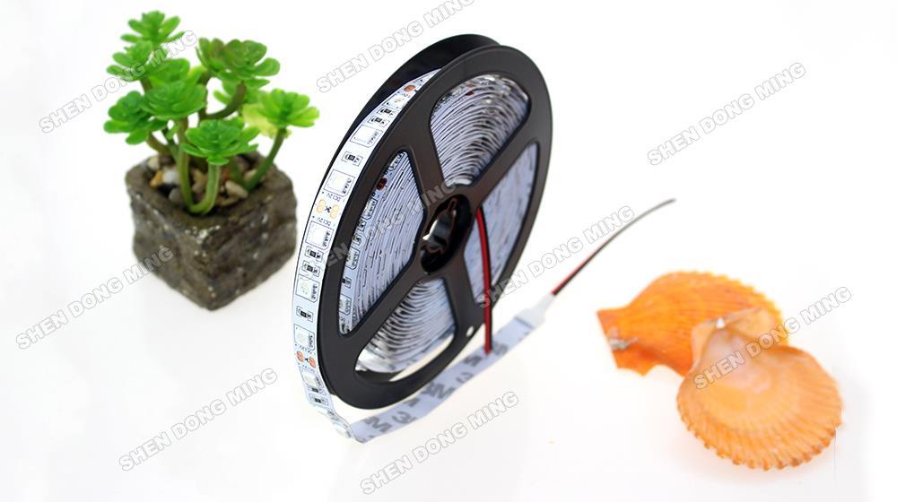 Best price 5050 5M 300LED RGB LED Strip Light No-waterproof DC12V 60led/M colorful neon flexible rgb led tape