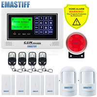 New APP Control Alarm System Home In Security And Protection New Black Or White GSM Alarm