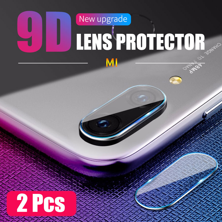 Jappinen 2Pcs/lot Back Camera Lens Tempered Glass for Xiaomi Mi 8 9 SE A2 Lite 6X 9T