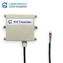 Transmissor de detecção de gás SO2 0-2000ppm 0-10 V tensão de saída
