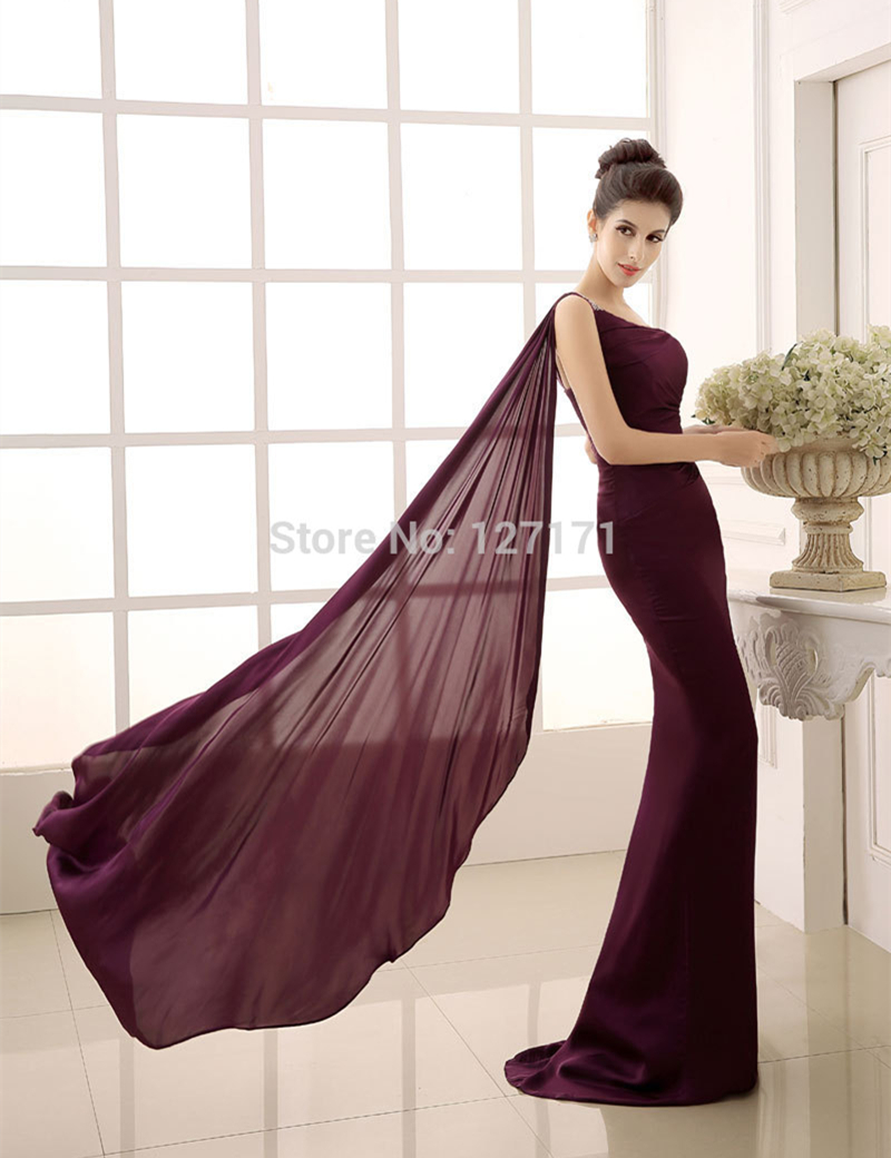 Aliexpress.com : Buy Free Shipping Women One Shoulder Purple ...