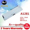 Лэптоп аккумулятор замена для Apple A1281 MB772 MB772 * / A MB772J / A MB772LL / A