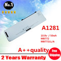 Wholesale New Laptop battery replacement for Apple A1281 MB772  MB772*/A  MB772J/A MB772LL/A FREE SHIPPING