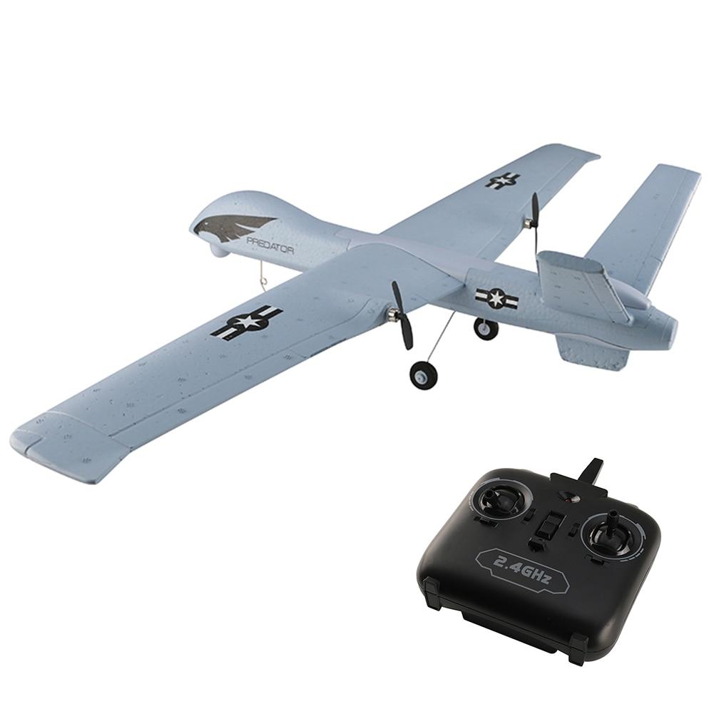 Pour Z51 Wingspan mousse télécommande planeur assemblage Drone Kit bricolage avion RC à aile fixe