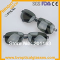 10804 Free shipping high quality  UV400 star sunglasses polarized men with TAC lens sunshade