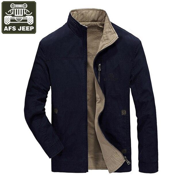 AFS JEEP Brand Abbigliamento Uomo Giacca Cappotto Jaqueta Masculina Doppio  indossare Giacca A Vento di Primavera c347101c2d2