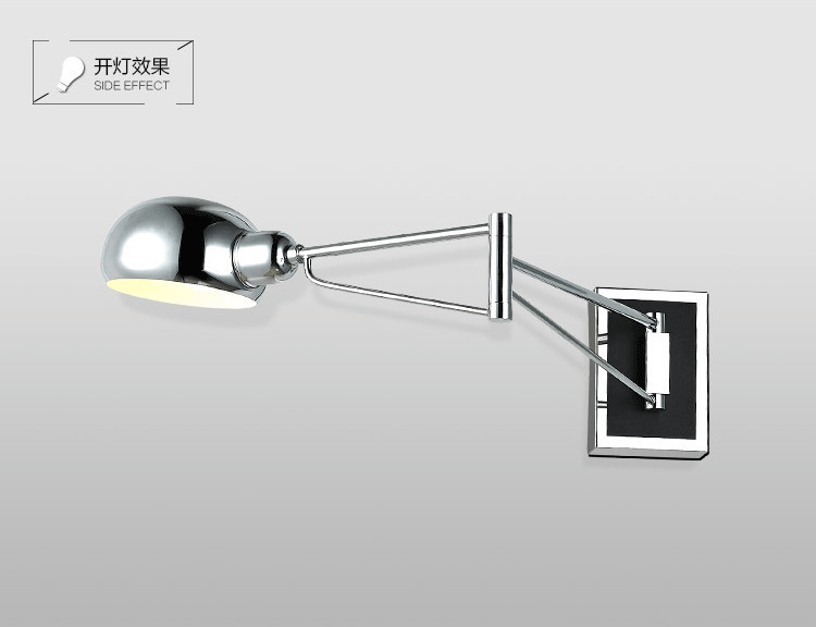 Swing modern wall lamps led Wall Sconce Bedside wall Lights ...
