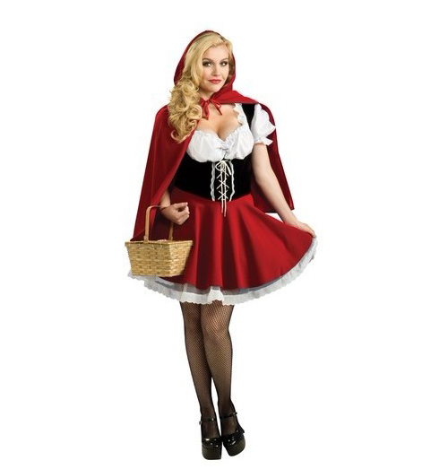 Image 4 - UTMEON Material Object Photo Plus Size S 6XL Costume Adult Little Red Riding Hood Costume-in Movie & TV costumes from Novelty & Special Use