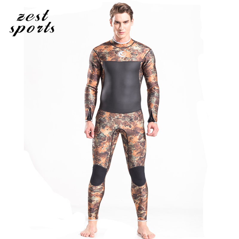 M049, 3mm Neoprene wetsuit, men surfing diving suit, long-sleeved,winter keep warm swimsuit, camouflage print men s winter warm swimwear rashguard male camouflage one piece swimsuit 3mm neoprene wetsuit man snorkeling diving suit