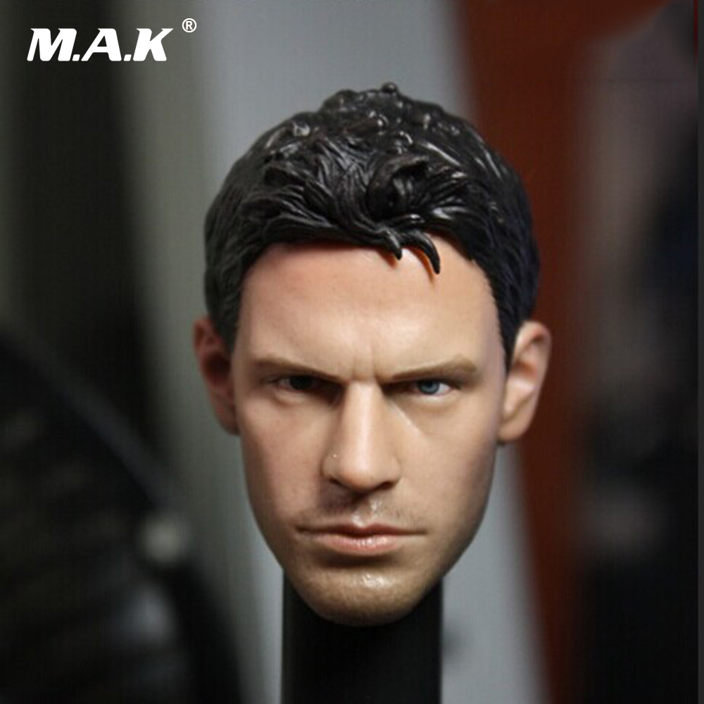 1/6 Scale Biohazard Resident Evil Chris Head Sculpt Cool Male Star Head Carving Model Fit 12Collectible Doll Toys Accessories 1 6 soldier clothes death game bruce lee suit head carving fit 12collectible doll toys accessories