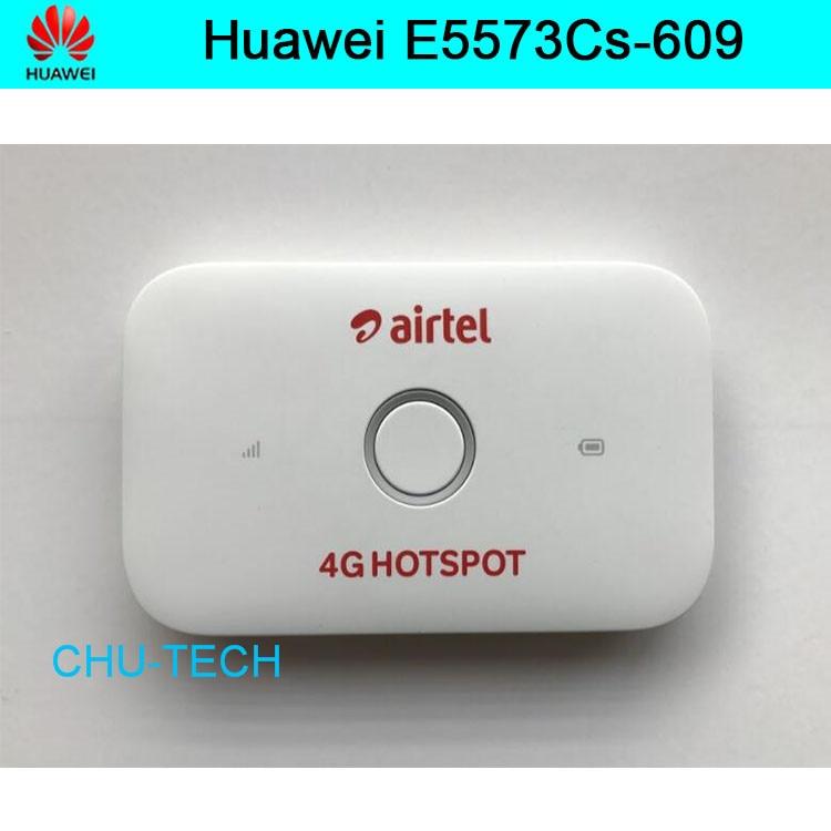 100 pcs/lot Original débloqué Huawei E5573Cs-609 LTE FDD 150 Mbps 4G routeur WiFi de poche, expédition DHL