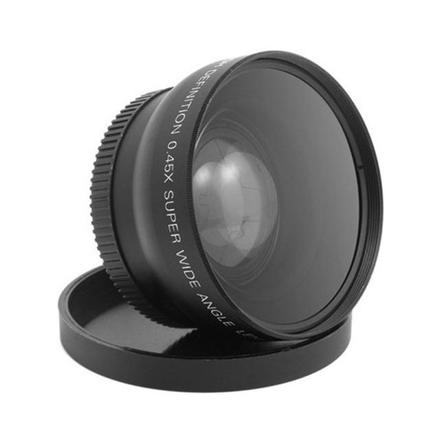 58Mm 0.45X Wide Angle And Macro Lens