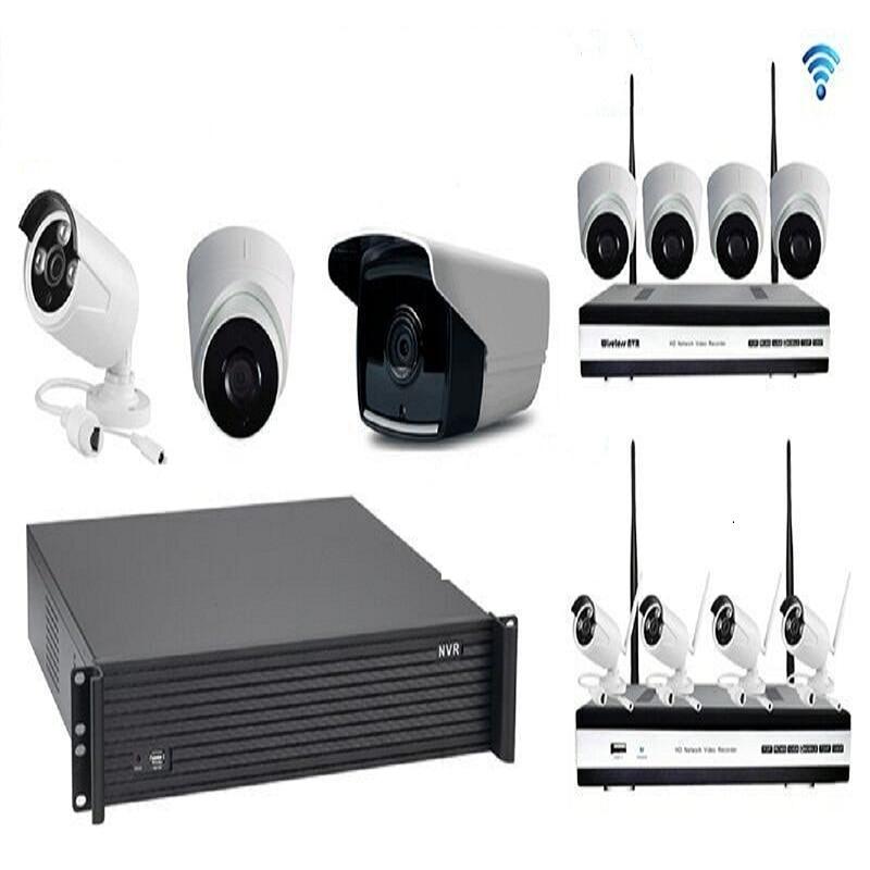 8CH CCTV System Wireless 960P NVR 8PCS 1.3MP IR Outdoor P2P Wifi IP CCTV Security Camera System Surveillance Kit 1TB HDD