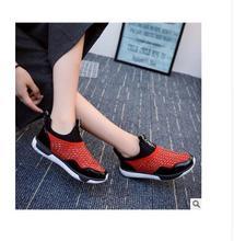 Hot!!Korea White Shoes Fashion Wind Flat Women's Shoes Women Ladies Girls student casual shoes ladies shoes LU