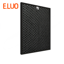 High Quality 365*280*10mm Air Purifier Filter AC4143 Activated Carbon for AC4072 AC4075 AC4014 AC4086 Cleaner Parts