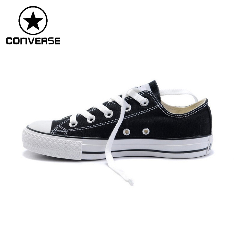 Original Converse Unisex Low top Classic Skateboarding Shoes Canvas Sneakser original new arrival converse classic kids skateboarding shoes low top canvas shoes sneakser