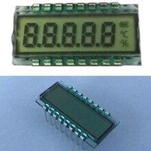 16PIN HTN положительный 5-знака после запятой сегмент ЖК-дисплей Панель Температура влажности Экран 5V без Подсветка