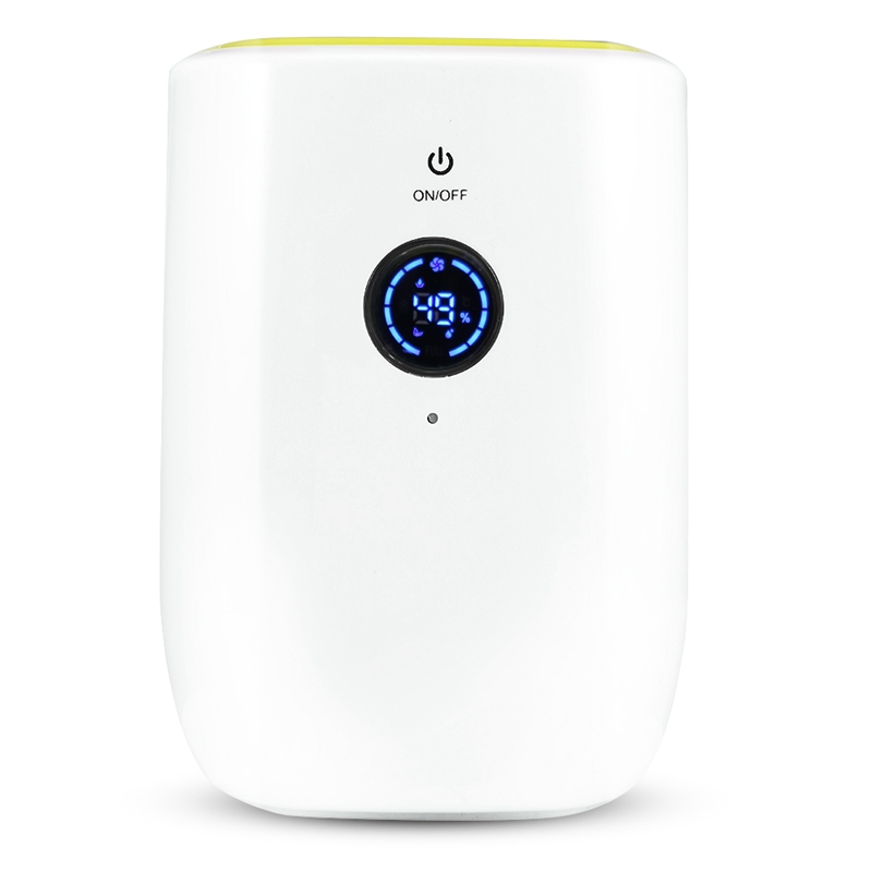 800Ml Electric Air Dehumidifier For Home Portable Moisture Absorbing Air Dryer With Auto Off And Led Indicator Air Dehumidifier   - title=