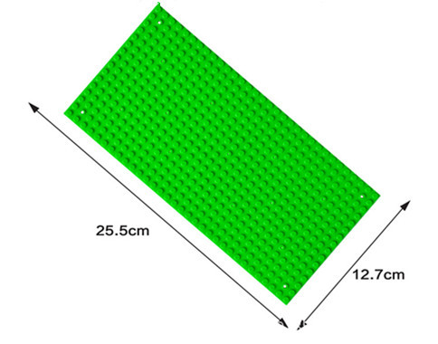 16*32 Dots Base Plate for Small Bricks 10 Colors