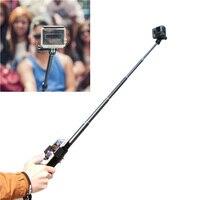 TELESIN Selfie Stick Aluminum Alloy Adjustable Handheld Monopod Camera Extender Pole With Frame Housing For Polaroid