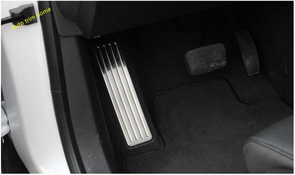 Lapetus Seite Links Fuß Fußstütze Pedal Auto Zubehör Abdeckung Trim Fit Für Cadillac XT5 2017 2018 2019 2020 Edelstahl stahl