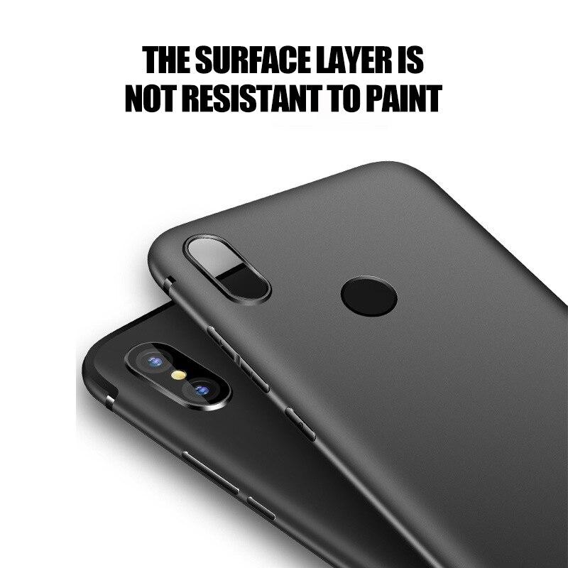 Frosted Phone Cases For Xiaomi Mi 5C 5S 6 8 9 SE Lite Explorer Plus Cover Note Max Mix 2 3 Case