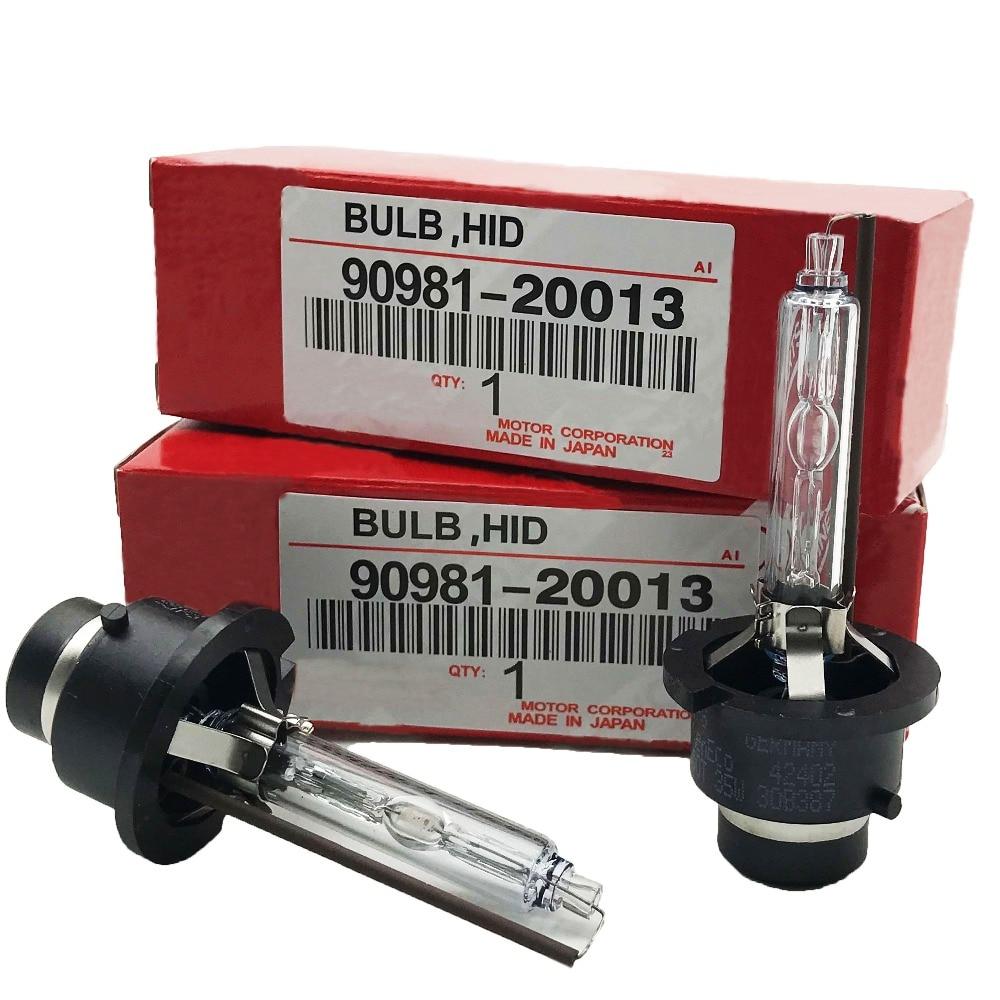 2PCS HID Headlight Xenon Bulb For Toyota Lexus 90981-20013 90981-20005 90981-20008 90981-20029 D4S/D4R/D2S/D2R 6000K 4300K