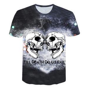7c795ec2 BZPOVB 3d T-shirt skull Quick Dry Summer Tops Tees Tshirts