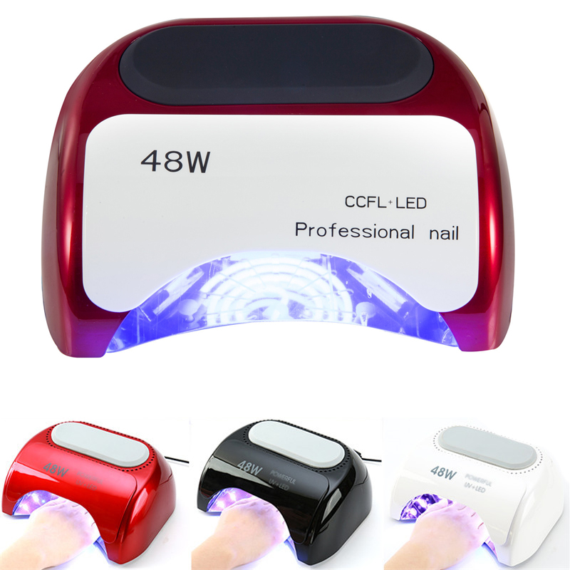 22%,48W Nail Dryer Polish Machine UV Lamp LED Nail Lamp Hybrid For Curing Nail Gel With Automatic Sensor Nail Art Tools22%,48W Nail Dryer Polish Machine UV Lamp LED Nail Lamp Hybrid For Curing Nail Gel With Automatic Sensor Nail Art Tools