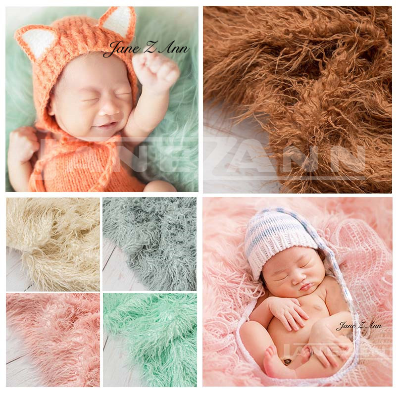 Jane Z Ann Newborn photography props blankets European American style pure wool thick baby photo background blanket free shipping h letter blanket brand designer home blankets wool cashmere car travel portable blankets throw bed 158x138cm size