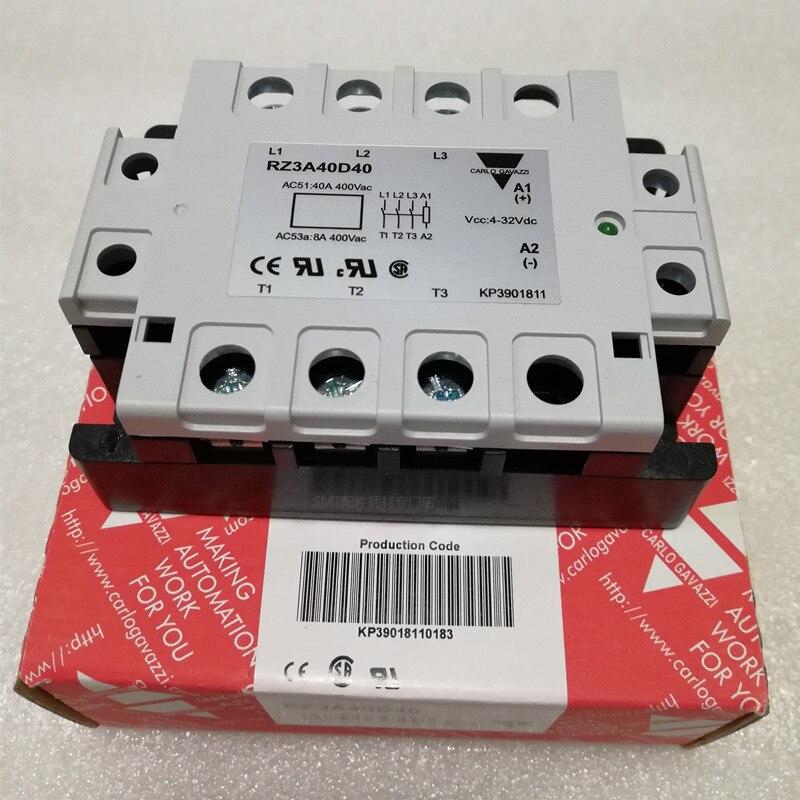 Bonne qualité 3-phase Solid State Relais Industriel ZS type Tension Relais RZ3A40D40