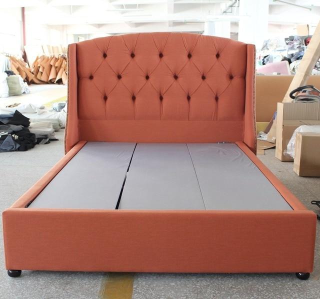 El más promocional tela suave cabecero de cama de muebles europeos ...