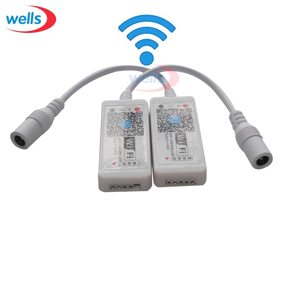 1 հատ հատ RGB / RGBW wifi Controller 24-ական հեռավոր - Լուսավորության պարագաներ - Լուսանկար 3