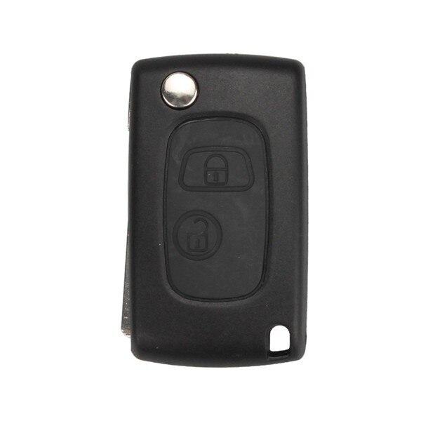 New Modified Flip Remote Key Shell 2 Button VA2 for Citroen 5pcslot