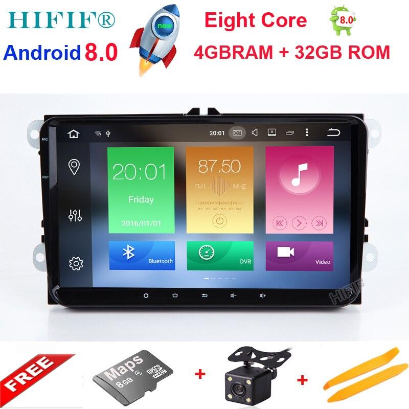 HIFIF New 9 Octa Core PX5 4GB Android font b Car b font font b Radio