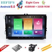 HIFIF Новый 9 «Восьмиядерный PX5 4 ГБ Android Автомагнитола аудио стерео для Volkswagen VW PASSAT CC gps навигации ленты Регистраторы головное устройство