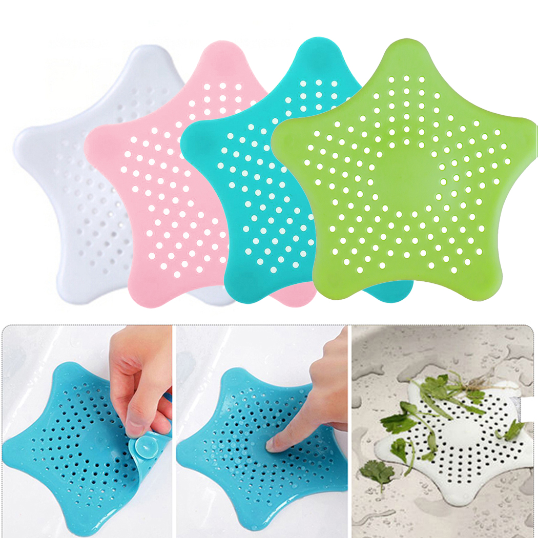 Bathroom Drain Hair Catcher Bath Stopper Plug Sink Strainer Filter Shower Covers