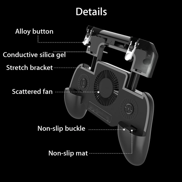 Mobile Gamepad with powerbank 4