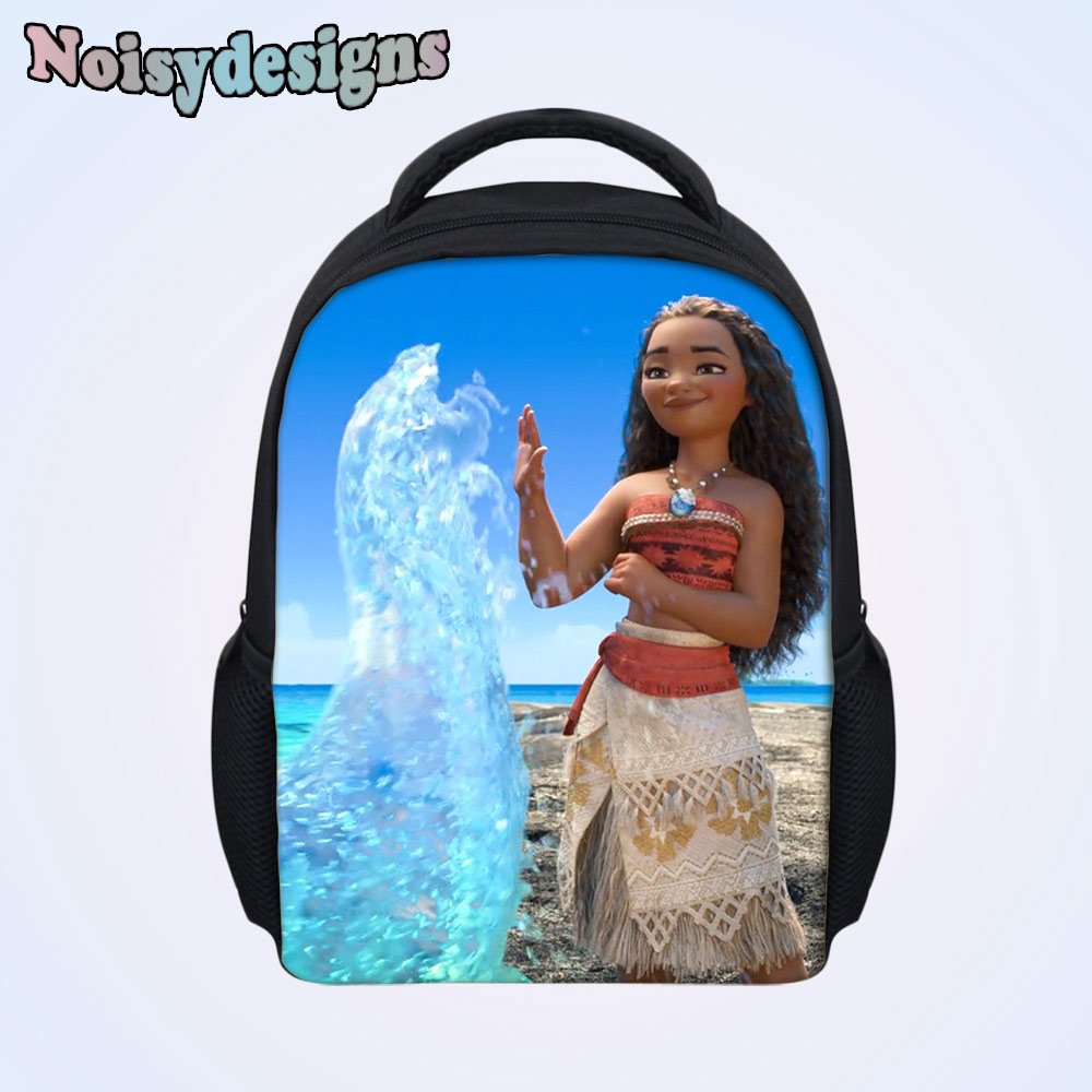 cb900b7ba686 US $15.6 35% OFF|Men Princess Moana Cartoon Printed Teenagers School Bags  Preschool Mini Fashion Children Mochila Backpack Boys Girls Schoolbag-in ...