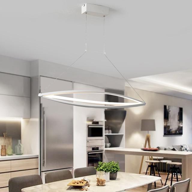 New design LED pendant lights Modern living room lights led Dining hall aisle Aluminium pendant lights Lighting