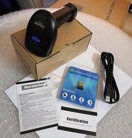 2.4G wireless Bluetooth scanner  supermarket cashier  laser one-dimensional code Bluetooth scanner