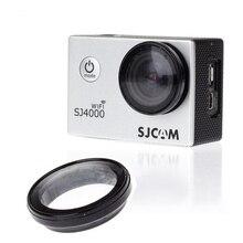 Acessórios Da Câmera Ação SJ4000 SJCAM UV Tampa Da Lente Filtro Para SJCAM SJ4000 Wifi Protetor Protetor Tampa Da Lente de Vidro Óptico