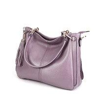 Women Tote Bags Handbags Women Famous Brand Casual Crossbody Bag Soft Genuien Leather Women Messenger Bag Shoulder Bags