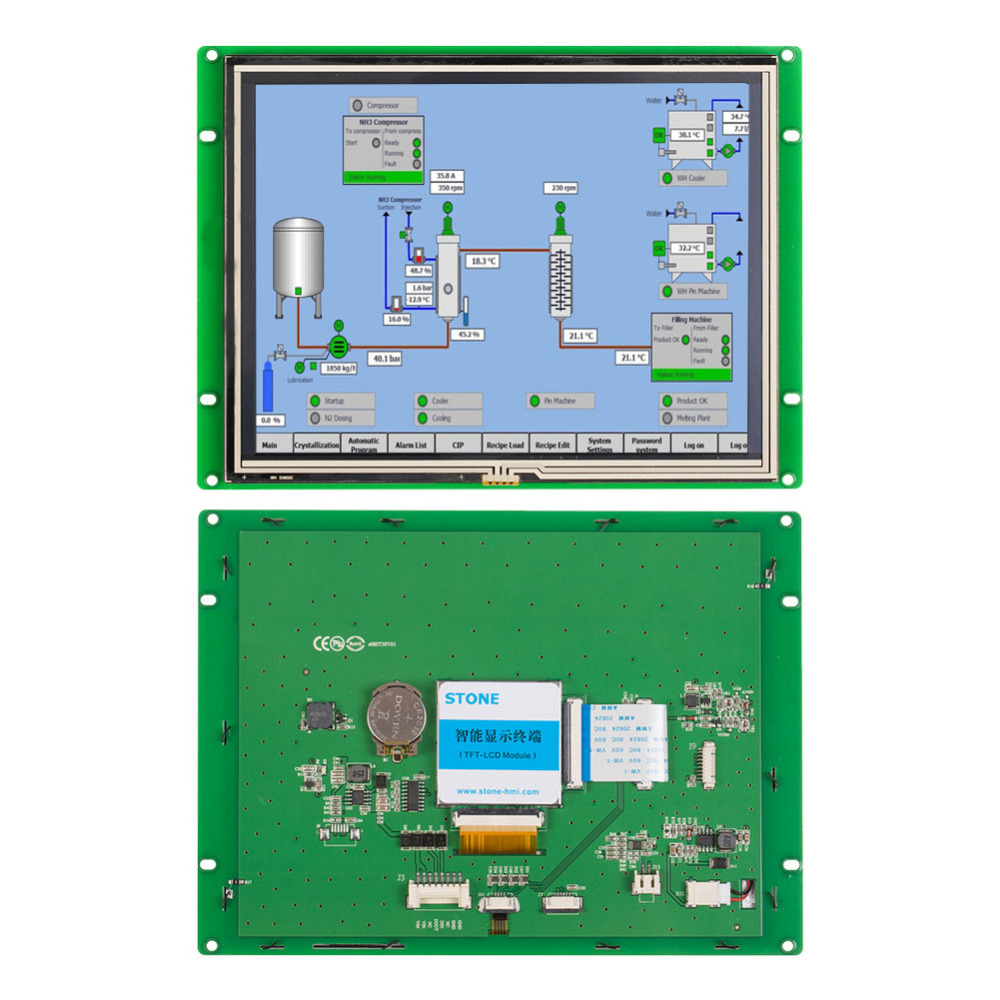 3 year warranty 8 0 quot Open Frame Touch Monitor For Industrial HMI Control 100PCS in LCD Modules from Electronic Components amp Supplies