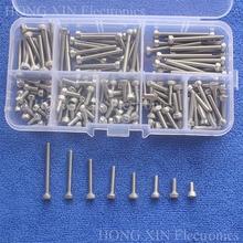 160pcs/set M3 Series Hex Socket Cap Head Screw Stainless Steel Bolts Accessories Kits M3X6/8/10/12/16/20/25/30mm Assortment