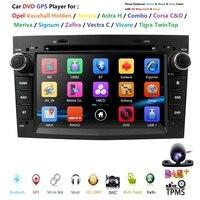 7inch AutoRadio 2din Car dvd Player For opel astra H vectra c zafira bcorsa c d G Meriva Vivaro Antara GPS Navigation BT SWC